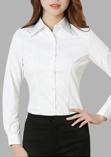 女士免烫温莎领衬衫