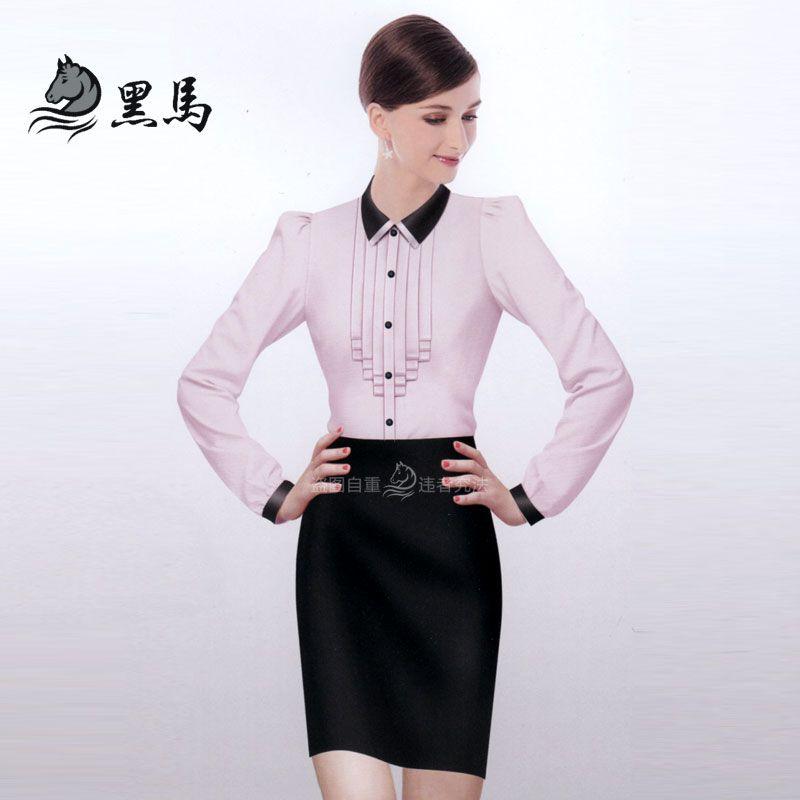 女式衬衫CS-02正面