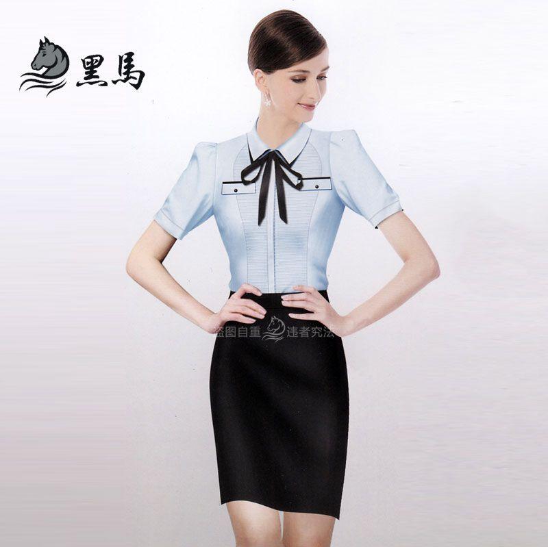 韩版女式衬衫CS-01正面