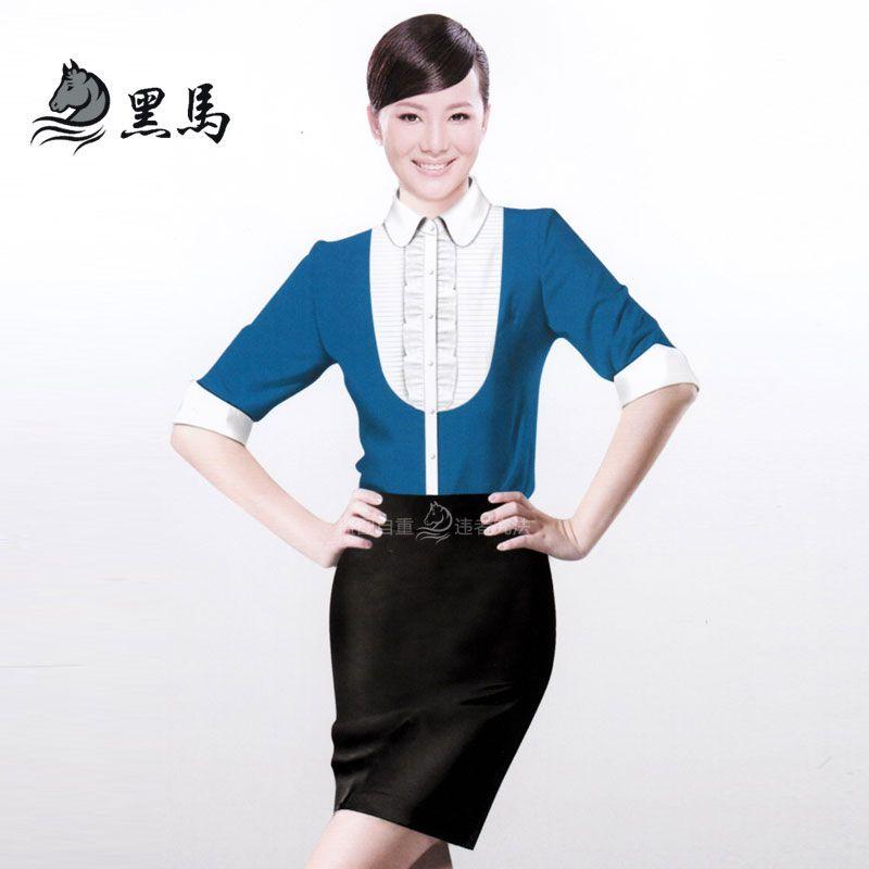 女式衬衫CS-04正面图