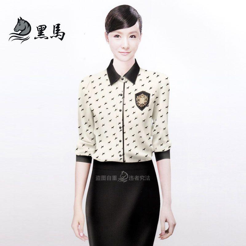 女式衬衫CS-06正面图