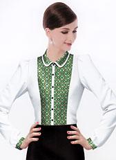 女式伊顿领衬衫CS-07