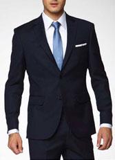 职业装男士西服套装 藏蓝色XF-18