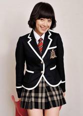 北京高中生英伦女式校服