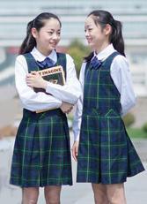 北京中学生英伦校服连衣裙