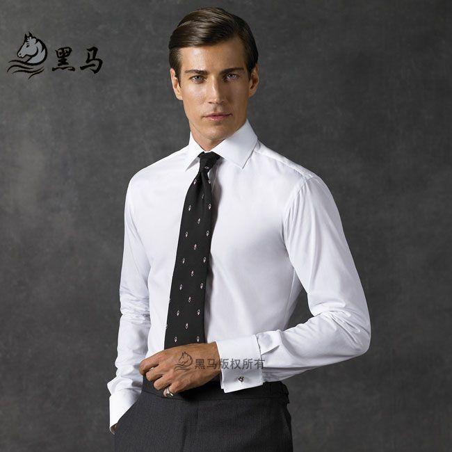 男士西服套装衬衫