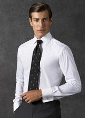 男士八字领衬衫图片CS-08