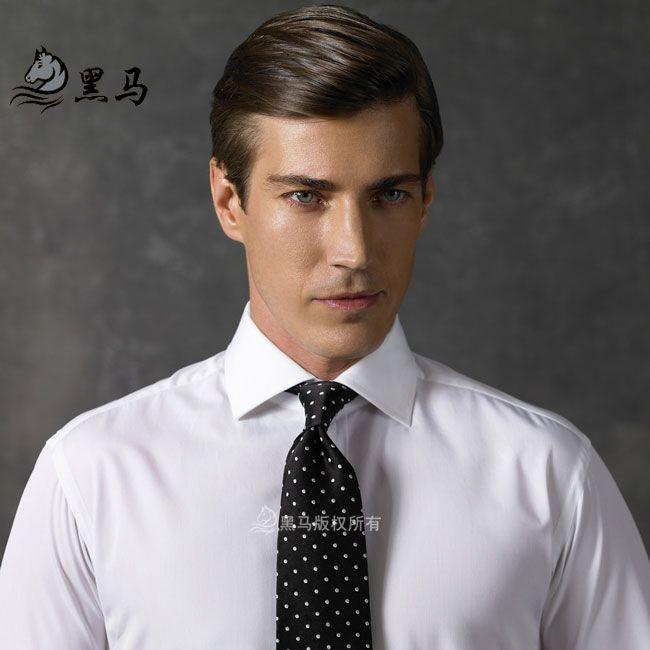 男士衬衫CS-09前胸