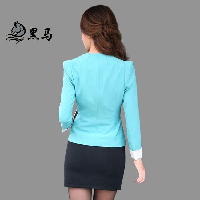 女式西服MXF-07背面图