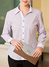 女式长袖衬衫CS-13