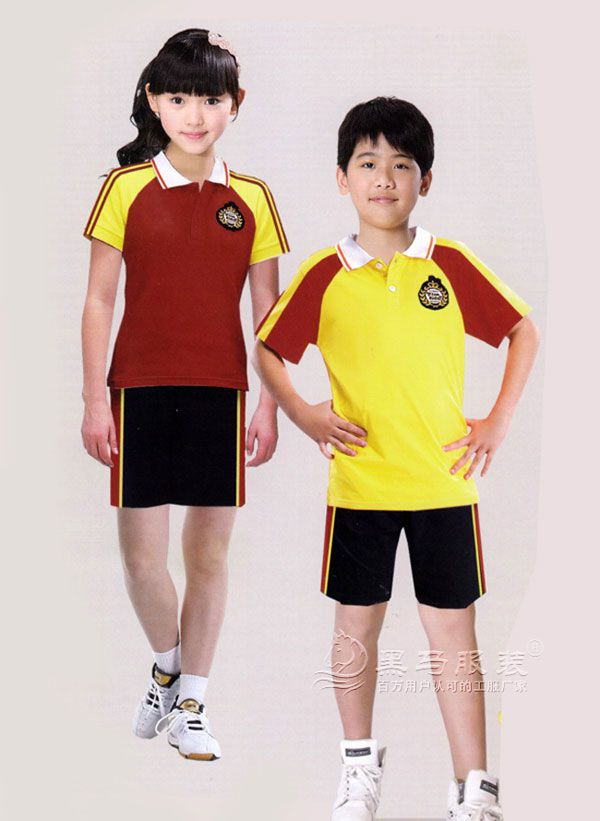 小学校服 短袖T恤+短裤