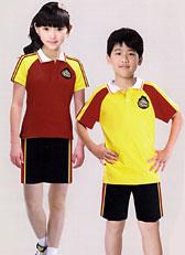 夏季小学生园服