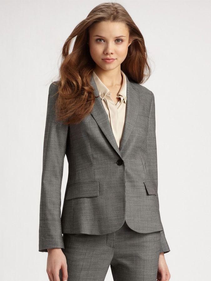 女西服套装M-12模特图