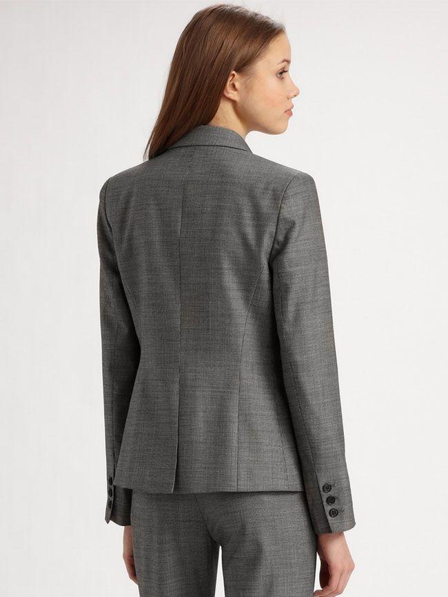 女西服套装M-12背面