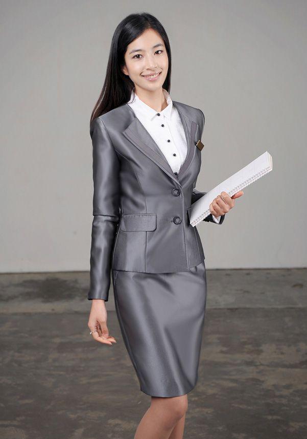 韩版女装_女西服套装M-14 - 黑马服装