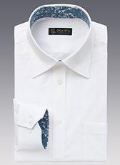 男士长袖标准领衬衫款式图A-04