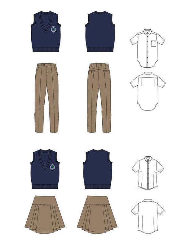 高中生校服设计图03