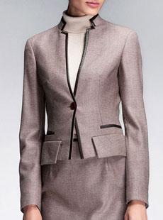 女式西服款式时尚大气女西服M-19