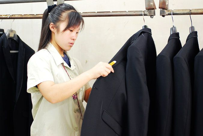 工作服质量检测