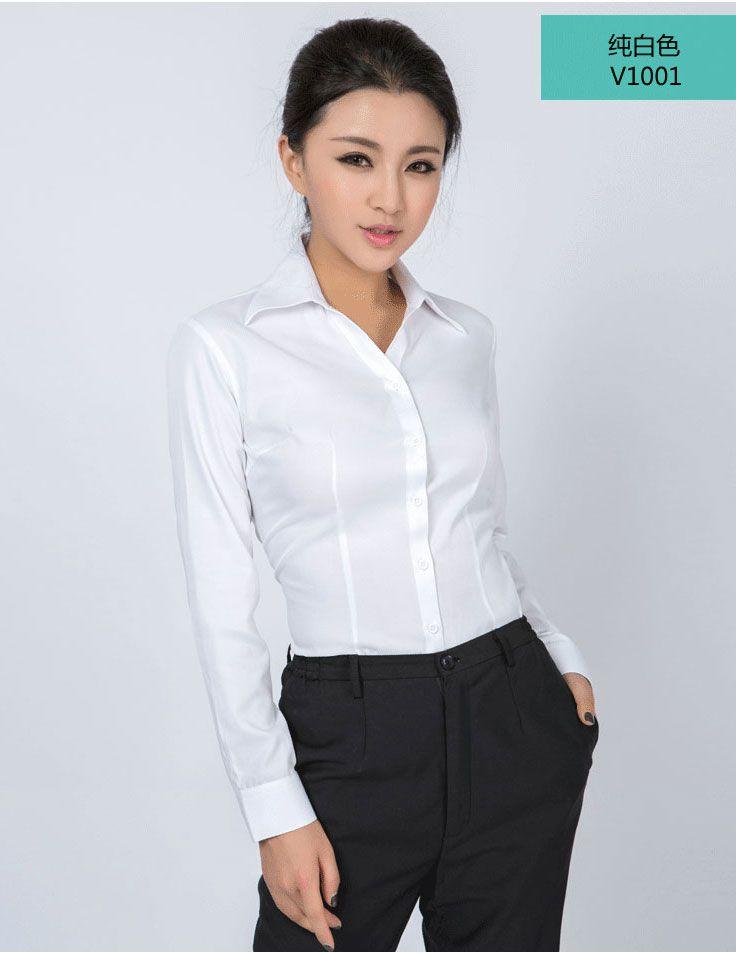 白衬衫女长袖_11