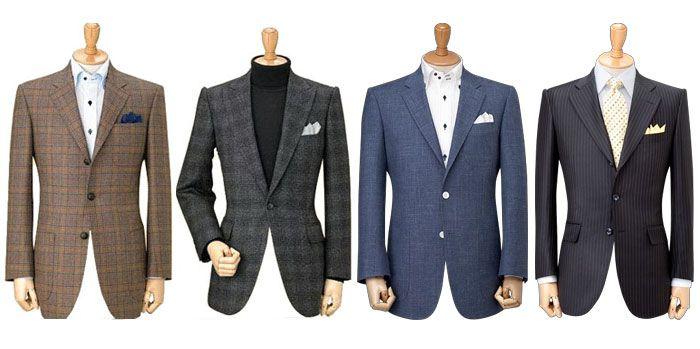 男士西装款式
