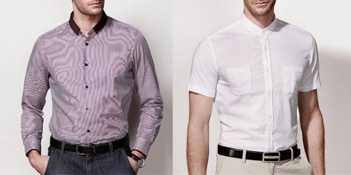 男士衬衫选择