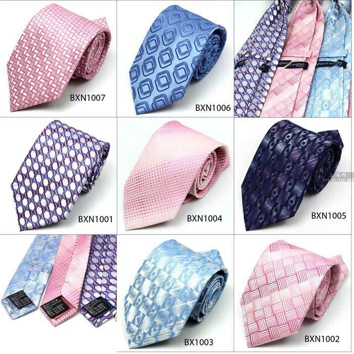 男士领带款式