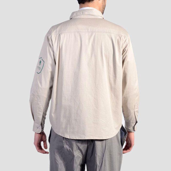 国家电网工作服装背面图片