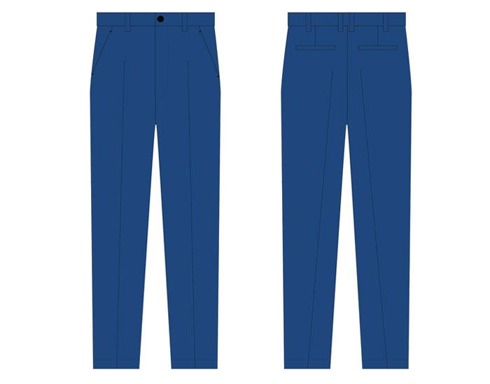 汉能工作服裤子设计方案