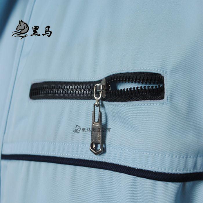 雪铁龙汽车工作服口袋细节图