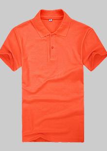 红色夏季现货POLO衫