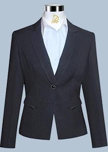 女职业装西服款式图W-01