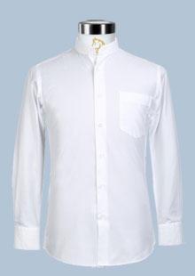 罗蒙男士衬衫经典中国风立领