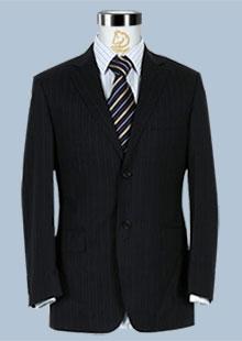 雅戈尔修身商务两粒扣西服