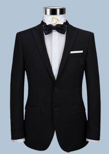 男士高端西服修身商务英伦绅士新郎礼服