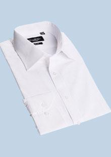 男士长袖衬衫纯棉免烫