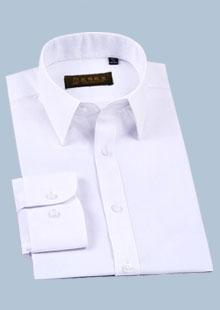 韩版修身免烫男士长袖衬衫