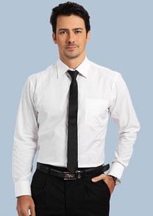 纯棉免烫男士衬衫
