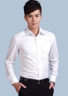 韩版修身男士衬衫