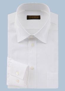 男士高密纯棉长袖衬衫