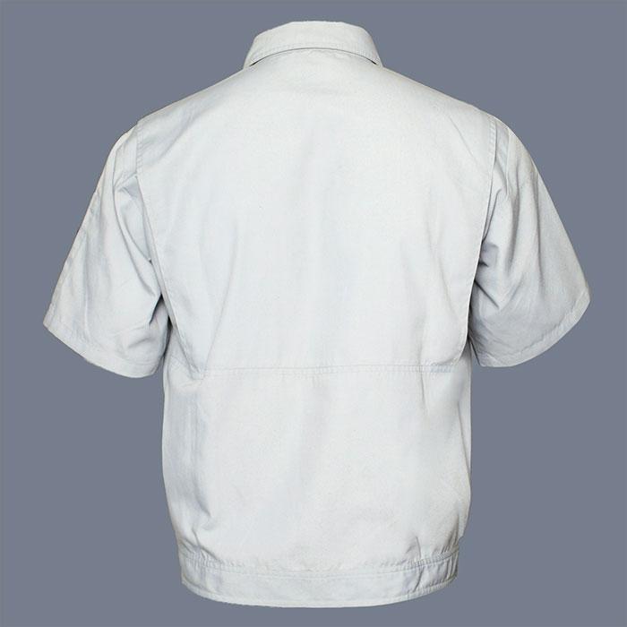 京东方工作服夹克-背面图