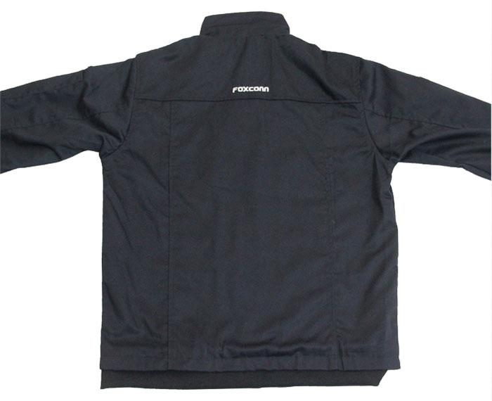 富士康工作服背面图