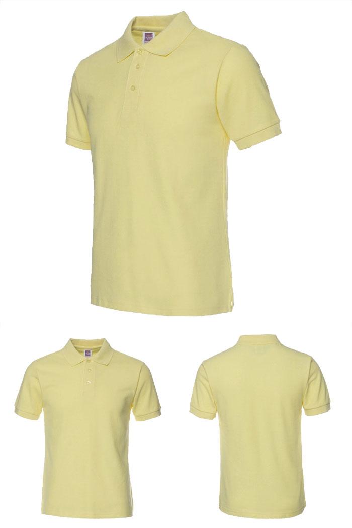 黄色T恤衫