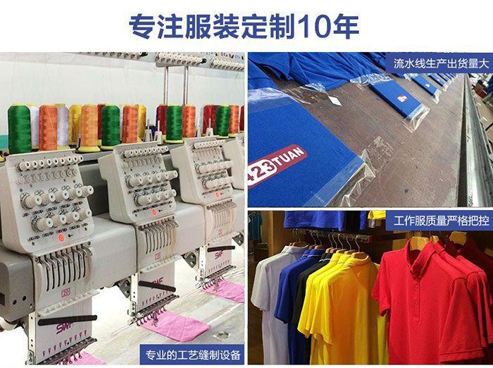 专业的工作服POLO衫工艺缝制设备