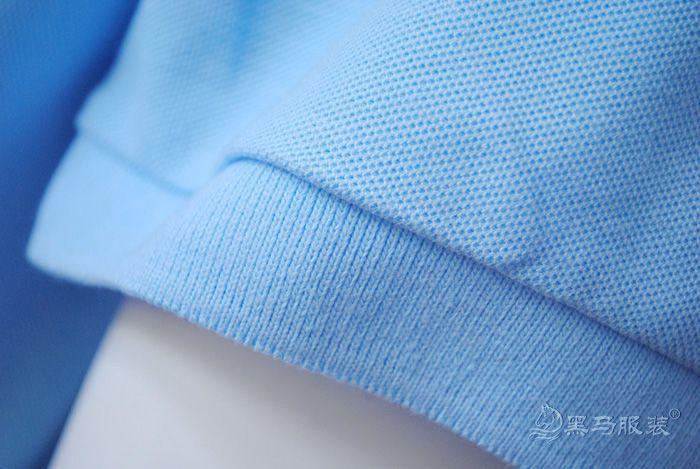 纯棉短袖polo衫袖口细节