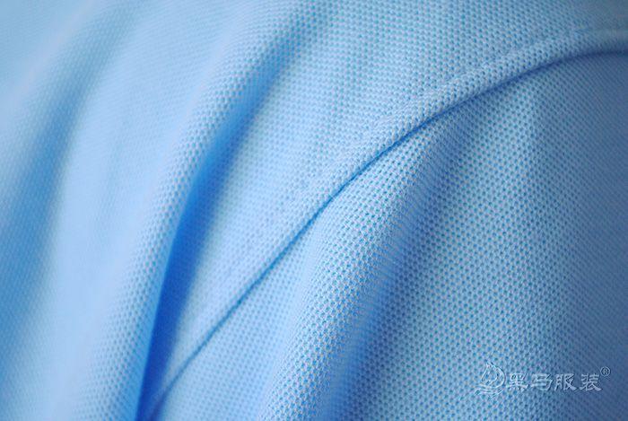 纯棉短袖polo衫肩部细节图