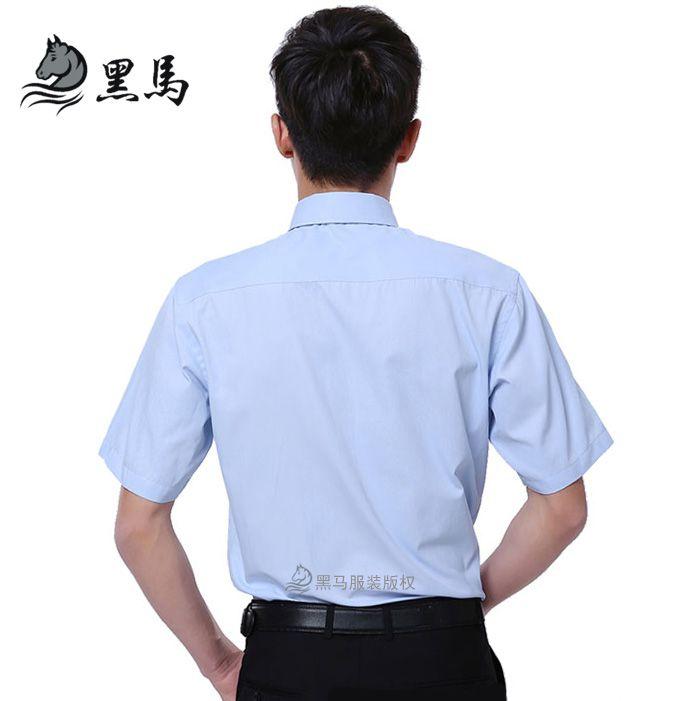 衬衫背面图