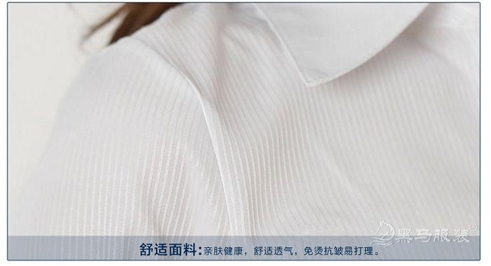 衬衫肩部细节图