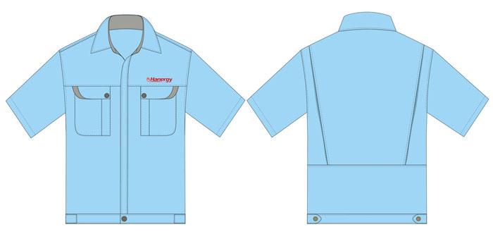 汉能集团工作服设计方案