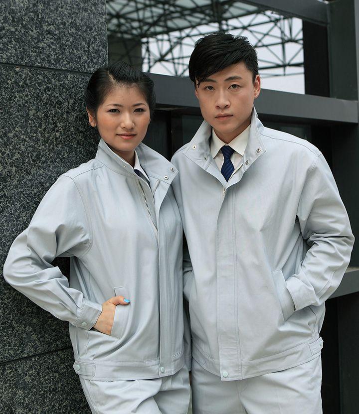 时尚工作服夹克 白色